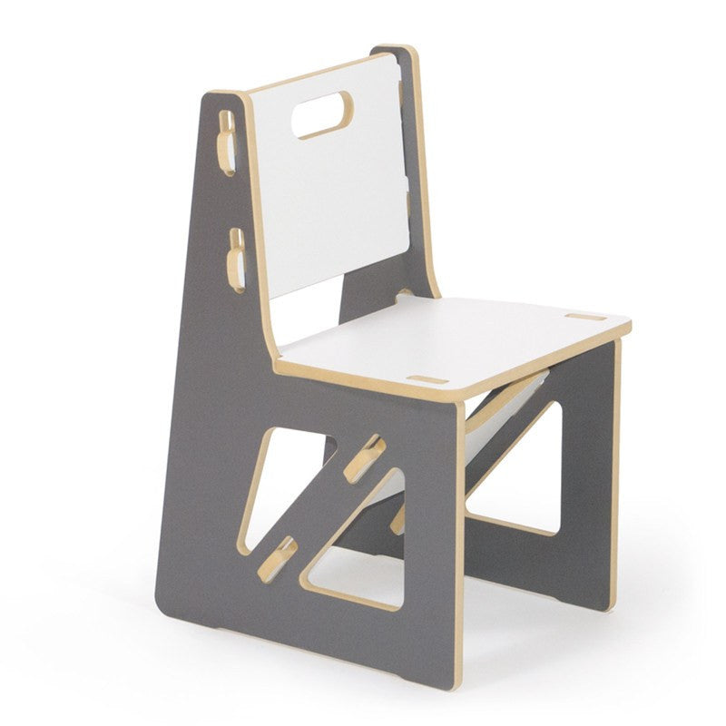 Modern Grey Child's Chair