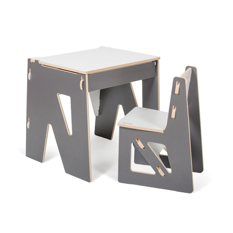 Easy Assembly Childrens Desk With Storage. Green Toddler Desk. Next