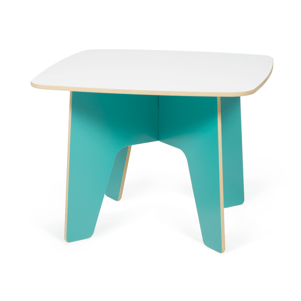 Modern Aqua Toddler Table