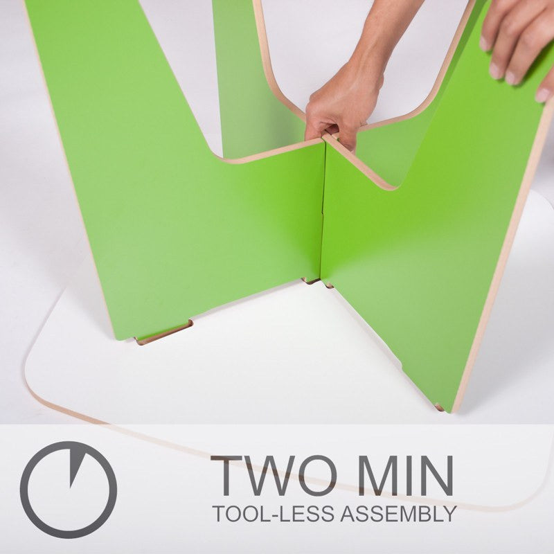 Easy Assembly Kids Table, Two Minute Assembly