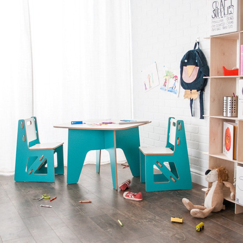 Aqua Kids Play Tables and Chairs, Activity and Craft Tables, American Made