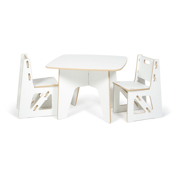 Modern Kids Table And Chairs American Made Children Table