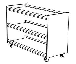 Moveable Outdoor Shelving
