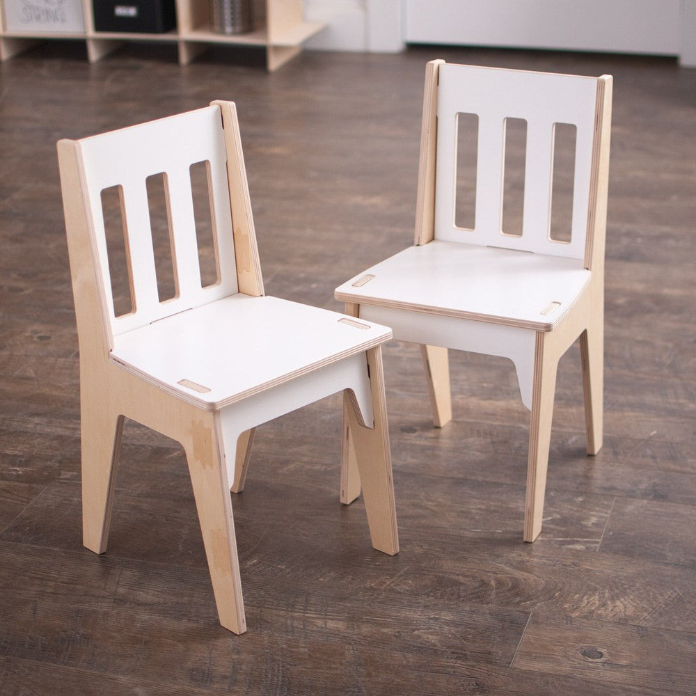 Wooden kids chairs sprout