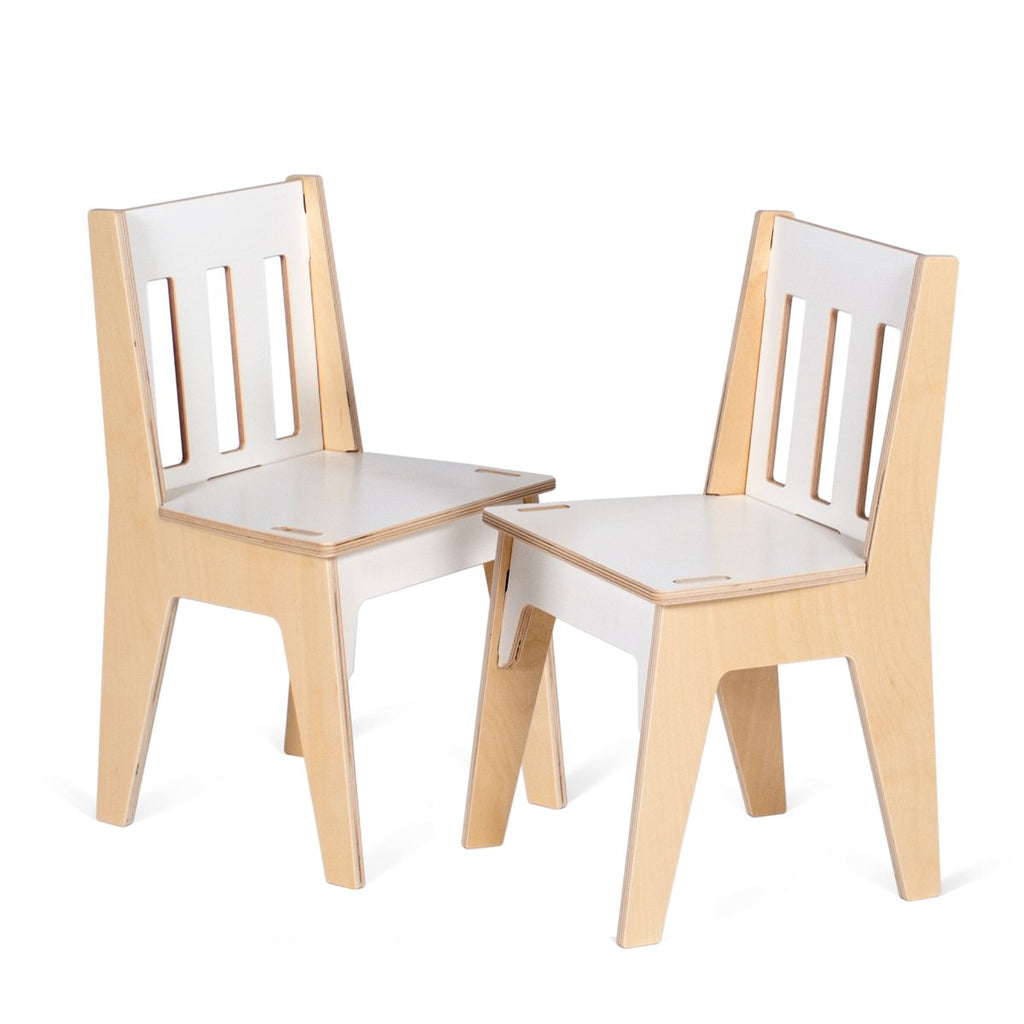 Gentil Wooden Kids Chairs