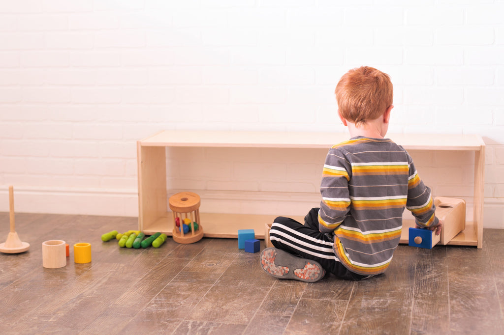 Value-Grade Birch Montessori Infant Shelf