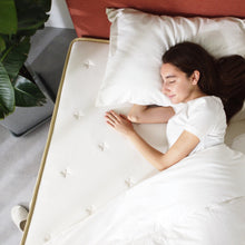Load image into Gallery viewer, LAGOM Green Tea Cloud Top Hybrid Mattress, Made in USA : 10""