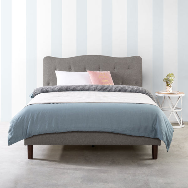 JANNE Upholstered Platform Bed