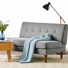 Load image into Gallery viewer, METTE Loveseat : Classic Grey Linen