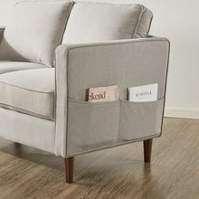 Load image into Gallery viewer, HANA linen sand gray : Loveseat