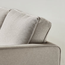 Load image into Gallery viewer, HANA Loveseat : Sand Grey Linen