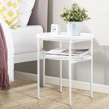 Load image into Gallery viewer, side table table round table bedside table small space furniture