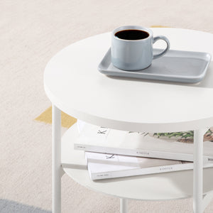 side table table round table bedside table small space furniture