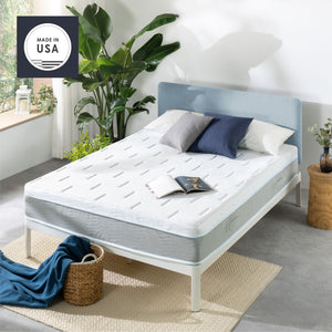 OLAF Gel Snowcloud Top Memory Foam Mattress with Cooling Fabric, Made in USA : 10""