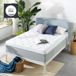 OLAF Gel Snowcloud Top Memory Foam Mattress with Cooling Fabric, Made in USA : 14""