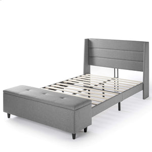 Peekaboo Wingback-Mellow Home queen bed frame king size bed frame bed frame full folding bed frame full queen bed frame wood bed frames queen size mellow bed frame full size metal bed frame bed platform frame queen hybrid mattress full California king