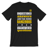 Unquestioned Answers Tee - Black