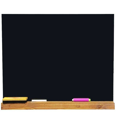 Shelved Framed Chalkboards