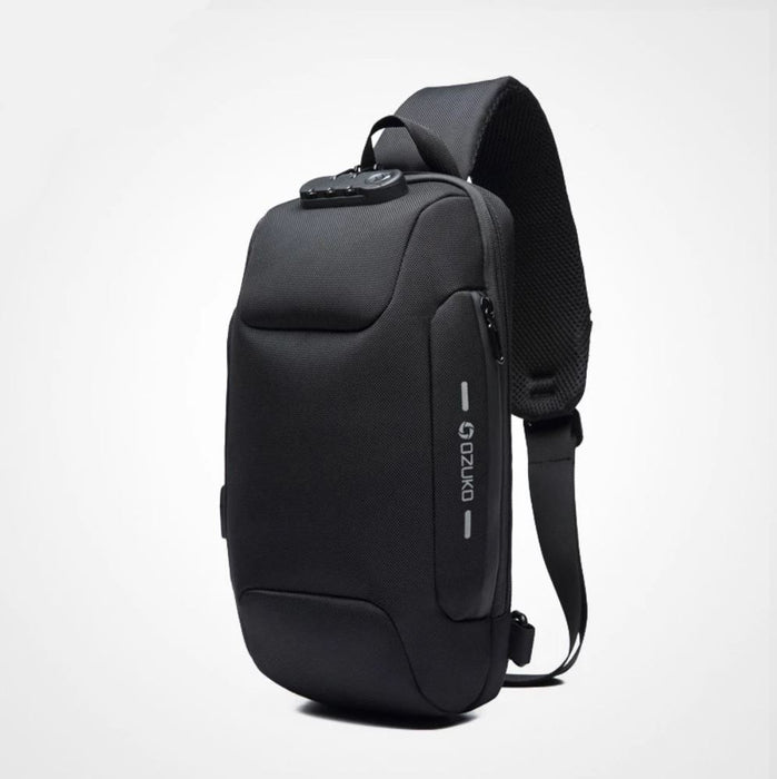 Multifunction Crossbody Bag for Men with AntiTheft Protection
