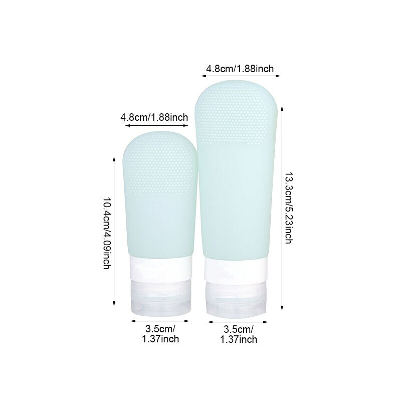 Portable Silicone Lotion Bottle