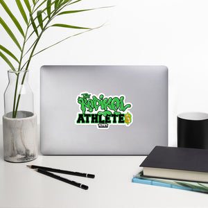 EWA RADIKAL ATHLETES Bubble-free sticker