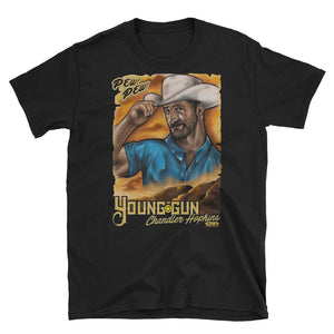 "EWA CHANDLER HOPKINS ""WESTERN POSTER"" Short-Sleeve Unisex T-Shirt"