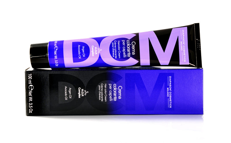 DCM Hair Colour Cream 8/55 Light Blonde Intense Red