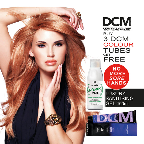 DCM Colour & Sanitising Hand Gel Offer