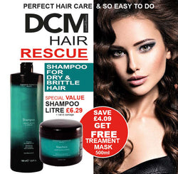 DCM Shampoo for Dry & Brittle Hair