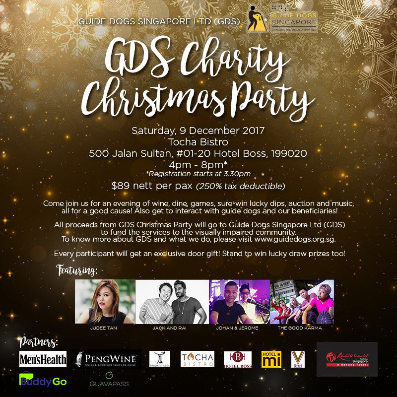 GDS CHARITY CHRISTMAS PARTY