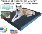 Memory Foam Pet Beds, Extra Large for Big Dogs