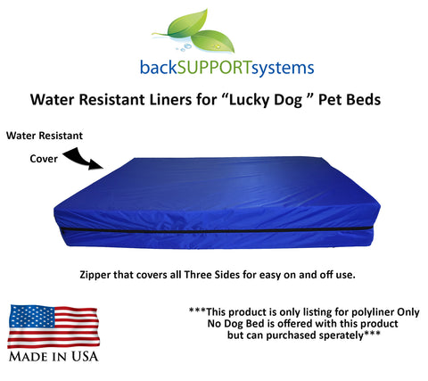 Lucky Dog Water Resistant  Inside Liner