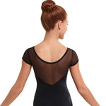 Leotard - Solid Mesh Cap Sleeve, South Tulsa Dance Co.Leotard - Solid Mesh Cap Sleeve