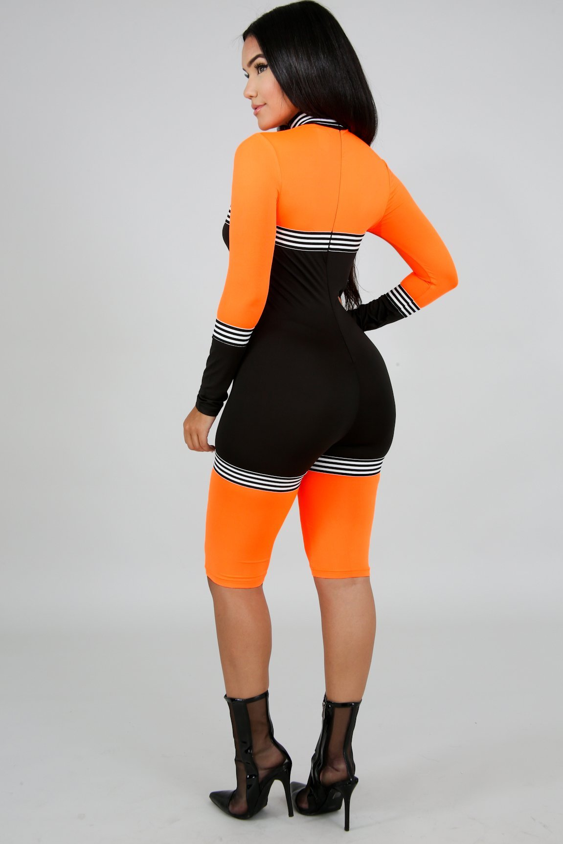 af0dc410f1a9 ... Neon sporty Romper - The slay clothing brand ...