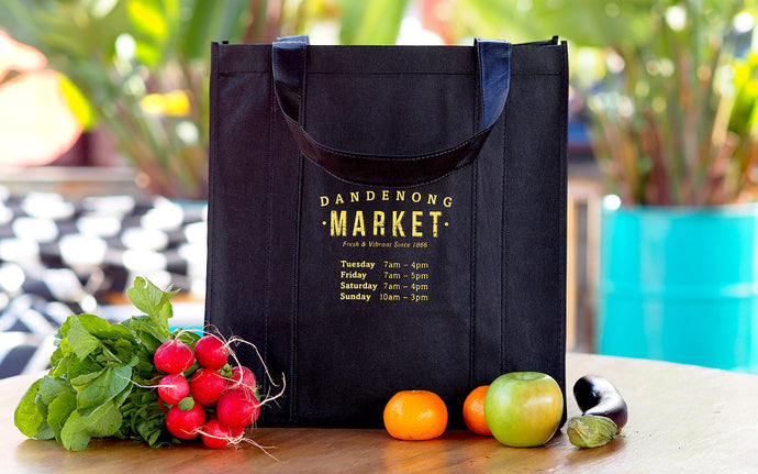 Dandenong Market shopping bag - 3 for $5