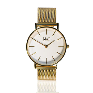 MAT Watch Classic Gold