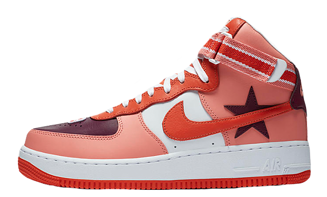 "new arrival 68b45 d25a0 RICARDO TISCI X NIKE AIR FORCE 1 HIGH ""ICARUS""  AQ3366-601 – FlyKickers"