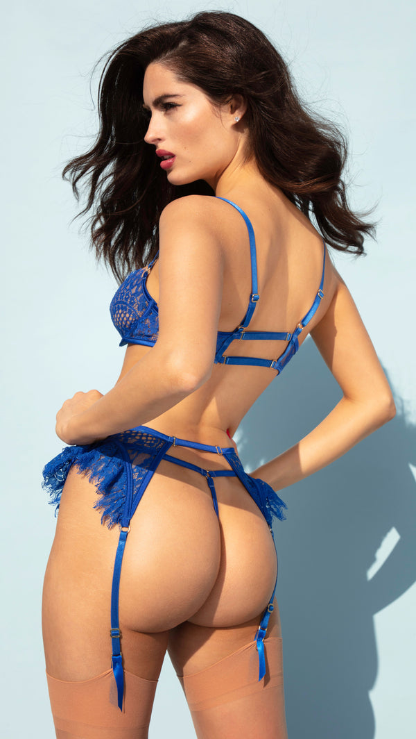 BLUE CHERRY<br>THONG