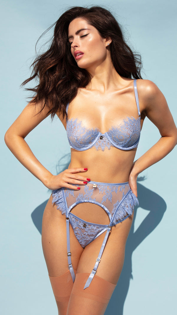 BABY BLUE CHERRY<br>BRA