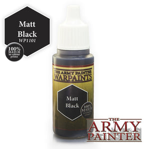 Army Painter: Matt Black Warpaint