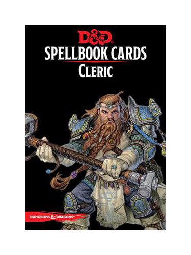 D&D: Spellbook Cards: Cleric Deck