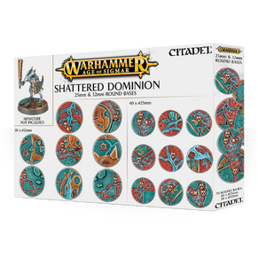 AOS: Shattered Dominion: 25 & 32mm Round Bases