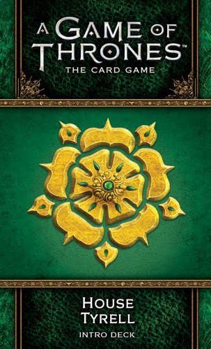 A Game of Thrones the living card game: House Tyrell intro deck