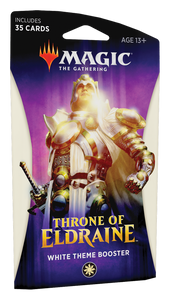Magic the Gathering Throne of Eldraine Theme Booster Pack - White
