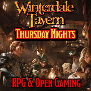 Thurs 13th June Night Open Gaming and RPG