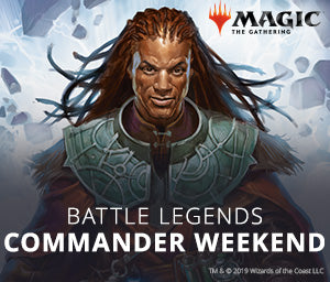 14th Sept: Magic: The Gathering Commander Weekend