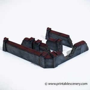 Ruined Church Walls bundle