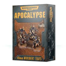 WH40K: Apocalypse Movement Tray 40mm