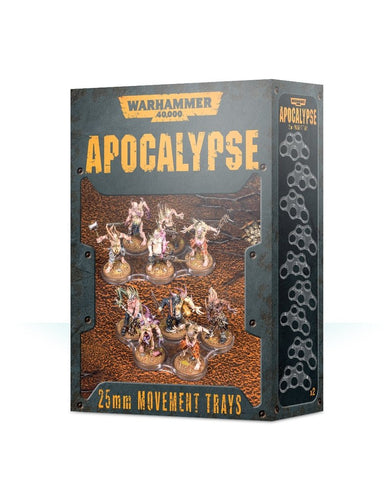 WH40K: Apocalypse 25mm Movement Trays