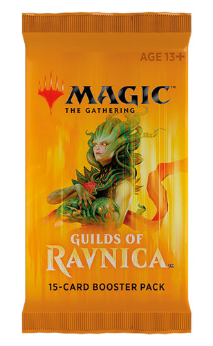 Magic the Gathering: Guilds of Ravnica single Booster packs